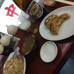 中華料理 若松 - ビールセット…炒飯選択(^∇^)