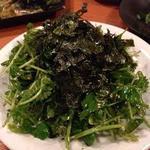 博多ダイナー 琉 - パクチーたっぷり パクチーボンバーサラダ