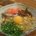 博多ダイナー 琉 - 博多かまたま麺 〆にもおつまみにも旨かです