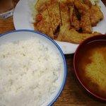こづち - 肉生姜定食 800円也