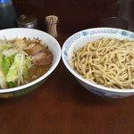 4605592 - 小ラーメン+つけ麺