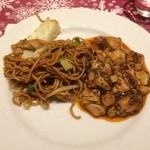 エトワール - 焼きそばと麻婆豆腐