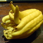 Bar Agit - コレが仏手柑 レモンのご先祖?だとか♪