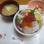 鮨まるやま - 海鮮丼♡蟹入りのお味噌汁、蟹サラダ付(o^^o)