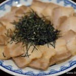 一蘭 - 釜だれとんこつ焼き豚皿【2015年12月】