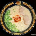 一蘭 - 料理写真:天然とんこつラーメン【2015年12月】