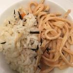 スイーツパラダイス - 明太子パスタ&炊き込みご飯
