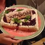 Fu-Ka - 誕生日ケーキをご用意いただきました