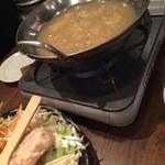 黒木屋 - 地鶏コラーゲン水炊き(2人前)