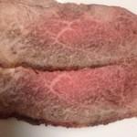 肉のニシジマ - ローストビーフ。