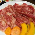 明月館 - 明月館のバラ肉