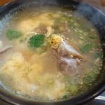 明月館 - テールスープ
