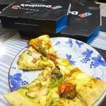 ドミノ ピザ - 料理写真:ガーリックが効いてるとこがオイシイ