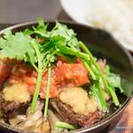 AW55 - 牛ハラミのサイコロステーキ オリエンタルサルサソース【2015年12月】