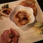 Dining urra - 前菜五品