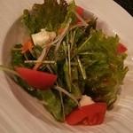Dining urra - セットのサラダ