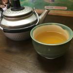 明神そば - 蕎麦茶