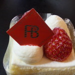 46064271 - 苺のショートケーキ(アップ)