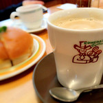 コメダ珈琲店 - たっぷりカフェオーレ(500円)