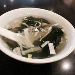 上海料理 飲茶 喬家柵 - スープ