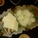 ふじ蔵 - ジャガバタ+イカの塩辛