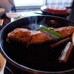 岡崎旅館 - なめた鰈煮