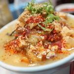 大豚白 - 大豚白麻婆麺(ハーフ