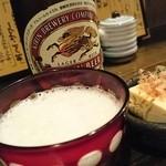 粋 - 乾杯はキリンラガービール。