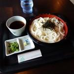 魚季亭 - ざるうどん(650円)