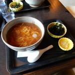 魚季亭 - のりラーメン(650円)