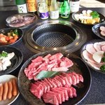 焼肉の牛太 - 料理写真:セットメニューもパワーUP!