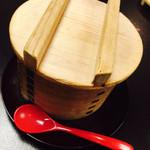 人形町今半 横浜高島屋店 - 茶碗蒸し