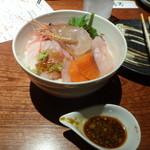十方夷第 - 本日の鮮魚の海鮮丼2000円