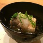 鮨くいじーぬ しゃり - ★★★☆ 生麩と豆腐の揚げ出し