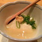 鮨くいじーぬ しゃり - ★★★☆ 手作り豆腐のあんかけ
