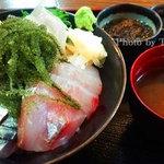 海邦丸 - 海ぶどう海鮮丼