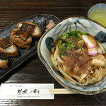 曽我の軒 - 料理写真:鰻まぶし稲荷寿司&きしめん 税込1500円