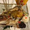 銀鱗荘 - 料理写真:小鯛尾頭盛り