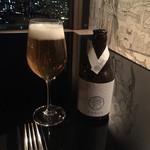 レストランチェリーウィズスカイバー - Kagua blanc ベルギービール