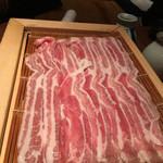 豚のハナ - 豚バラ肉