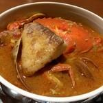 46077238 - 魚介のスープ