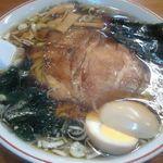 らーめん武蔵 - 醤油ラーメン 630円