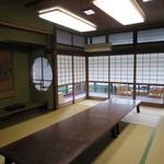 戸田本店 - 3階の山本元帥が利用していた部屋