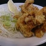 長浜ラーメン 味一番 - ここは、唐揚げも美味ッス!(⌒‐⌒)