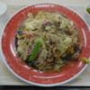 下松サービスエリア(上り線)フードコート - 料理写真:バリっ太そば ¥840-