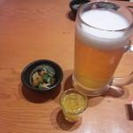 46081099 - 生ビール大(785円)食前酒