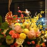 NAOMI - お正月のお花