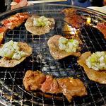 46082736 - 牛タン(塩)他(焼肉中)(2015年12月)
