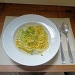 Little cucina Yume - イカとカラスミのパスタ