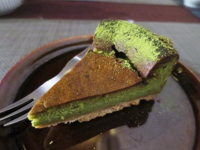 青家 - 抹茶チーズケーキ